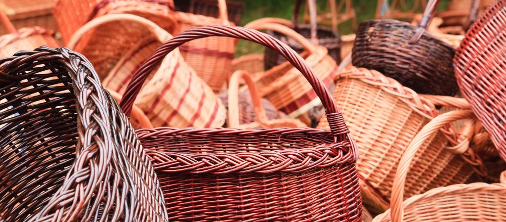 Poland wiklina traditional woven baskets_59301928